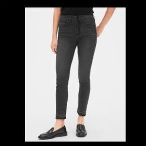 gap true skinny button fly jeans